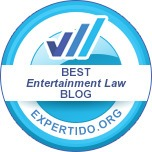 Best entertainment law blog